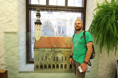 Craig and a marzipan church (ec1jack) Tags: marzipan estonia tallin oldtown church ec1jack kierankelly canoneos600d august september 2016 summer europe scandinavia