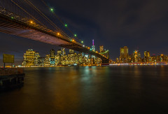 Brooklyn Bridge (Wizard CG) Tags: empire state new york ny longexposure cityscape sky clouds buildings rocks hudson river water epl7 evening outdoor shore skyline cloud landscape seaside brooklyn bridge side view city building cities architecture night serene structure waterfront lake bright manhattan