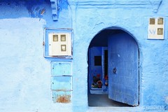 A typical house in the Medina of Chefchaouen. (Photographing_The_World) Tags: morocco marokk travel travelphotography arabic africa muslimcountry culture wanderlust explore people northafrica moroccan moroccanculture moroccancolors moroccancolours moroccanpeople africanpeople discovermorocco exploremorocco marrakesh marrakech fes fez agadir asilah essaouira merzouga sahara maroc chefchaouen colors travelphotos arabicculture arabicpeople travelblog muslimpeople muslimculture diversity multicultural locals locallife moroccanlifestyle moroccanlife arabicdoor arabivdoors moroccandoor moroccandoors doorway entrance enticingentrance blue bluewall bluefacade blu bluedoor bluedoors medina blueshades shadesofblue facade