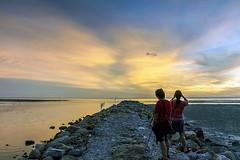 Sg Burong Sunset(eve of Eidul Adha 1437) (<Pirate>) Tags: sg burong sunset eve eidul adha 1437 colors canon 50d ray masters hard gnd 9 water river seascapes balik pulau penang