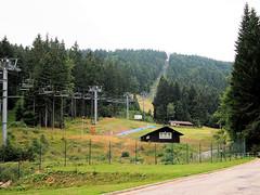 Ski Center at summertime. (topzdk) Tags: treeclimbing summer 2016 czechrepublic ski slope lanovy park centrum ky orlickch horch