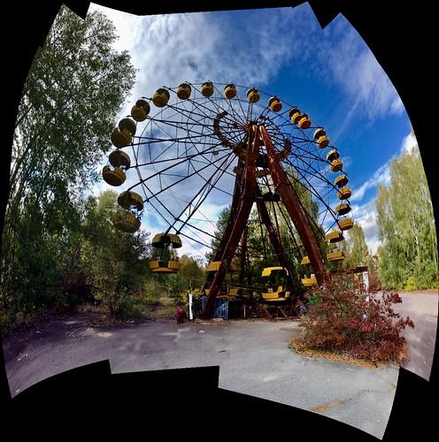 Amusement Park, Pripyat, Chernobyl Exclusion Zone