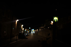 (VampireBassist) Tags: night ilobsterit lights penryn falmouth cornwall urban streets bokeh