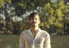 DSC_0337 (cjmontag) Tags: splash water rain bild portrait 50mm nikon selbstportrait wasser