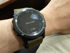 Storm alert (A. Wee) Tags: fenix3 garmin smartwatch