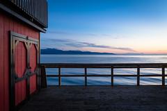 Sunset in Homer (mlhell) Tags: alaska clouds homer kachemakbay landscape nature seascape sunset
