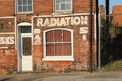 Radiation (jschumacher) Tags: virginia petersburg petersburgvirginia seaboardsalvage ghostsign building brickbuilding