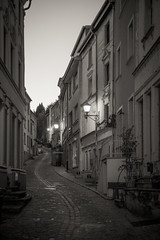 IMG_4856 (ZoRRaW photography) Tags: remich blackandwhite town luxembourg street night