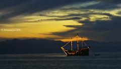 Marigalante al atardecer (Arenamarysol Photography) Tags: arenamarysol puertovallarta marigalante atardecer sunset messico pirateship mexique