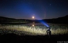 Moonlight (Dan F Skovli) Tags: canon canon6d tanron tamron fatbike bike salsabikes moonlight fullmoon fullmne north norway norge nordtroms outside utptur livet rides scandinavia