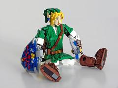 Link defeated (NKubate) Tags: lego ideas link zelda nintendo nkubate hero mastersword
