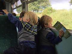 A Great Railway Adventure (Speed of Light [2]) Tags: summer england kids train children candid railway riding journey transportation everydaylife 2012 sonycybershotdsch1 sonycybershoth1 britishrailway carlzeisslens kidsontrain coachtrainride anydayinbritain