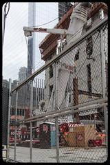 Bay Crane Liebherr LTM1500 (Vinny Schiano) Tags: world nyc construction crane manhattan worldtradecenter ground center cranes wtc trade zero groundzero nycconstruction cronstruction
