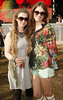 Iseult Timmons Ward and Orlaith Shinnick at Casa Bacardi at Electric Picnic