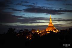 Shwedagon Pagoda, Yangon Myanmar (akazmie) Tags: gold golden pagoda shwedagon yangon burma stupa myanmar dagon akazmie