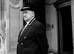 Ted Clark (Jordan | Photo) Tags: uk blackandwhite bw white ted man black london blanco hat lumix unitedkingdom negro panasonic jordan londres sombrero hombre reinounido gx1