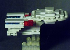 Enterprise- D (Legonardo Da Bricki) Tags: trek star lego d da enterprise bricki legonardo