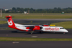 D-ABQE / DUS / 08sep12 (Plane Shots) Tags: airliner airberlin dus dhc8 dabqe