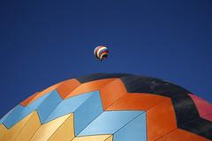 Two Balloons (007 Photo Guy) Tags: blue color balloons colorado circles shapes pagosasprings