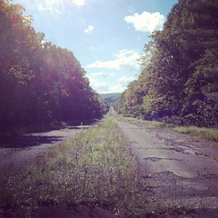 The Road (sssdc1) Tags: road abandoned highway pennsylvania interstate breezewood paturnpike