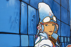 Detail - Moebius Tribute (katyaorlovie) Tags: sf california mural cuba tribute moebius clarionalley stan153 markbode