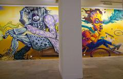 @Hungarian National Gallery with Mr.Zero (Fat Heat .hu) Tags: graffiti gallery national spraycan hungarian mng coloredeffects fatheat valosag ujrafestett