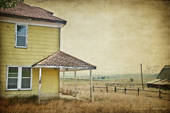 Summer's End (SLEEC Photos/Suzanne) Tags: ranch house abandoned farmhouse barn rural vintage fence landscape farm deserted textured ranchhouse coloradofarm magicunicornverybest kimklassentextures