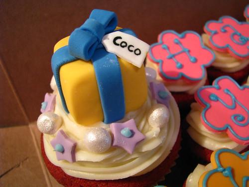 Coco's teeny Cupcake gift