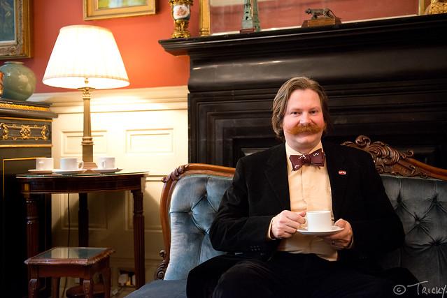 Paul Lewis (Natural Moustache)