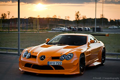 Sunset :) |Explored #1 (SvenK | Carspottography) Tags: light sunset orange slr beautiful car by photoshop germany 50mm during mercedes nikon babies stuttgart oz over gimp bblingen mclaren editing nikkor 18 sick tuning sven limit epic supercar gtb sindelfingen lightroom meilenwerk carspotting svenk hypercar ultraleggera sievers d3000 worldcars klittich carspottography