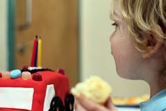 The Wonky Fire Engine Cake (Kninki) Tags: boychild