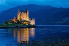 Eilean Donan (Perry McKenna) Tags: castle scotland mine f14 bluehour eileandonan 135mm dornie 8sec explored myownversion landofkintail