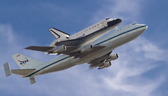 Shuttle Endeavour (Andy Frazer) Tags: sunnyvale spaceshuttle endeavour explored2