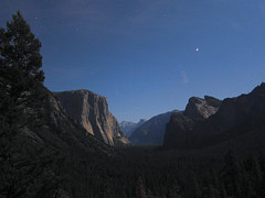 The Moonlit Valley - Yosemite National Park (Ren Wagner) Tags: california longexposure canon stars unitedstates powershot yosemite halfdome moonlight yosemitenationalpark elcapitan tunnelview bridalveilfall s95 canonpowershots95