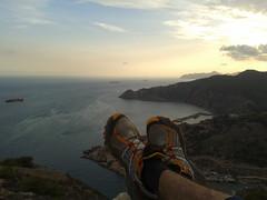 El Sudoeste (Pacurrio) Tags: atardecer mar mediterraneo trail asics cartagena galeras