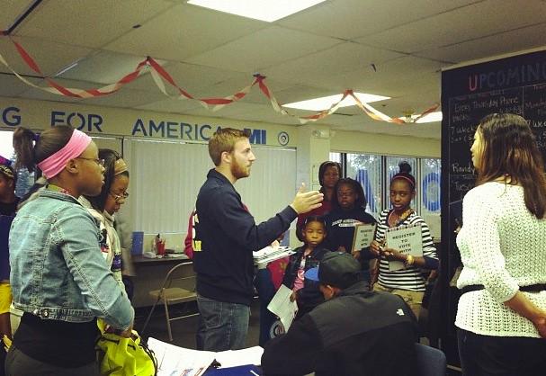 Voter registration training in Ann Arbor
