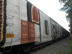 Lords (KingSquab) Tags: car train graffiti whole crew freight lords wholecar