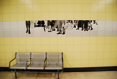 I don't remember with station is (john irving -) Tags: toronto ontario canada torontosubway