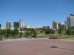 Birmingham as seen from Railroad Park (bluerim) Tags: alabama birminghamal railroadpark