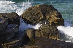 Sal contra la roca (Nebelkuss) Tags: mar mediterranean mediterraneo greece grecia greekislands paros islas egeo aegeansea cicladas