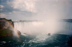 (MattieC.) Tags: toronto canada film fog river boat waterfall rainbow niagara falls disposable
