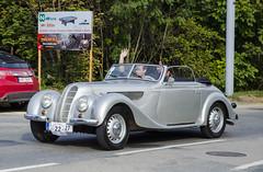 BMW 327 Kabriolet (1938) (The Adventurous Eye) Tags: classic car race climb do hill 1938 brno bmw rallye 327 kabriolet závod soběšice vrchu brnosoběšice