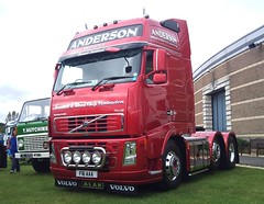 Anderson Volvo FH16 (71B / 70F ( Ex Jibup )) Tags: show truck display retro clean lorry restored trailer load carry polished loaded gaydon