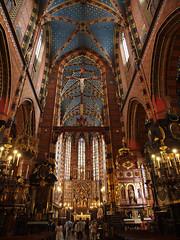 Bazylika Mariacka w Krakowie (arjuna_zbycho) Tags: city his