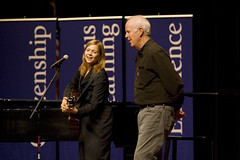"Arts and Ideas: Parker J. Palmer & Carrie Newcomer 5 • <a style=""font-size:0.8em;"" href=""http://www.flickr.com/photos/52852784@N02/8051217016/"" target=""_blank"">View on Flickr</a>"
