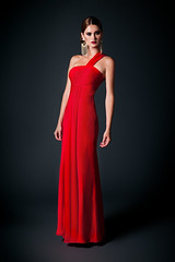 7156 in RED (DALIA MACPHEE GOWNS) Tags: 7156