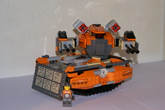MDT-streetsweeper (lordd3struct0r) Tags: mobile tank lego scifi heavy armored defense core mecha riu exoforce