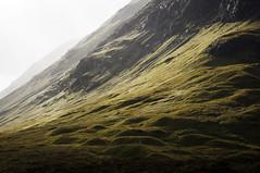 Highland light (Keartona) Tags: autumn light mountains landscape scotland highlands warm colours land slopes