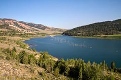 Lower Slide Lake (-dangler) Tags: park camping red summ