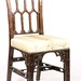91. Transitional Chippendale Style Chair